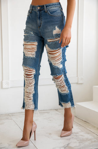 Monroe Jean - Medium Denim