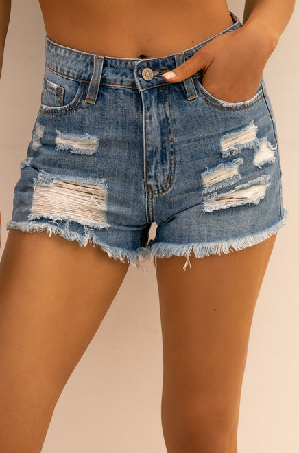 Hot Essence Short - Denim