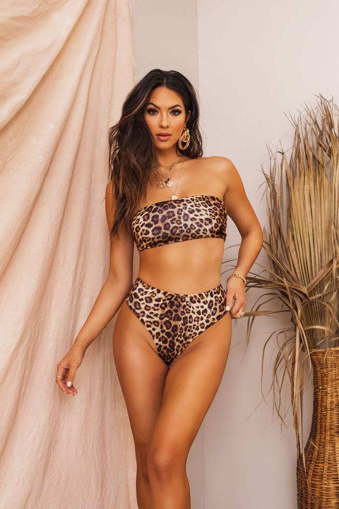 Private Island Bikini Set - Leopard