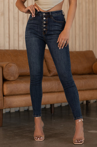 Jessica Jean - Dark Denim