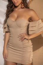 Genuine Love Dress - Nude