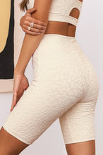 Work It Out Biker Short - Cream