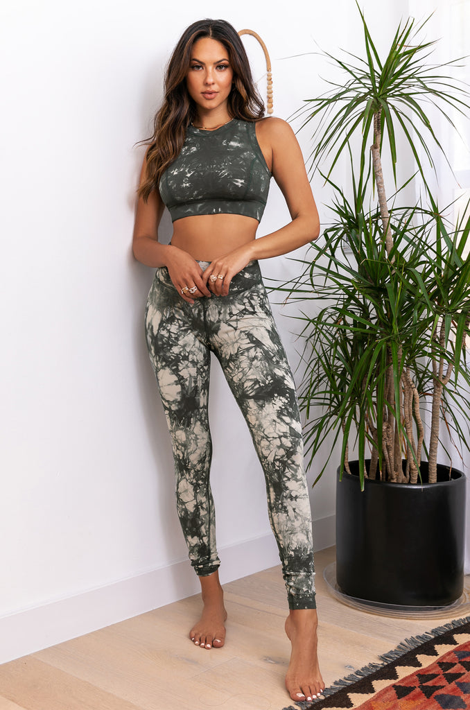 Positive Energy Active Top - Olive