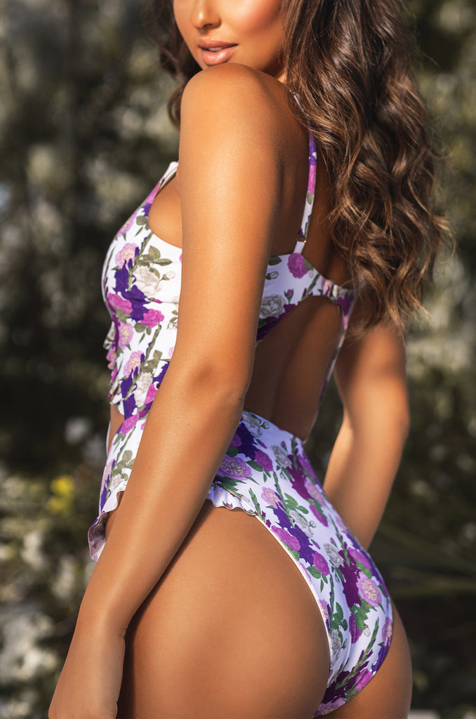 Paradise Bali Swimsuit - Purple