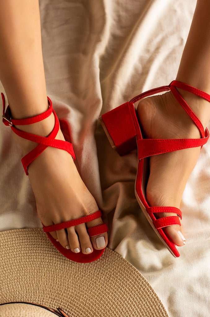 You're The One Mid Heel - Red