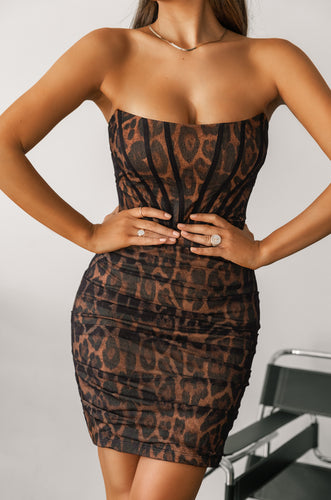 Vixen Dress - Leopard