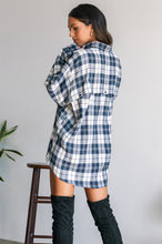 Baily Flannel - Navy