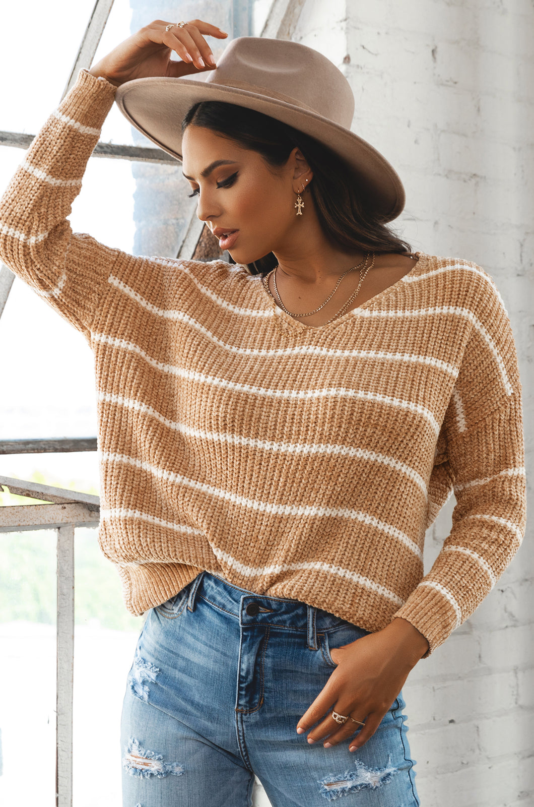 Cozy Affair Sweater - Nude