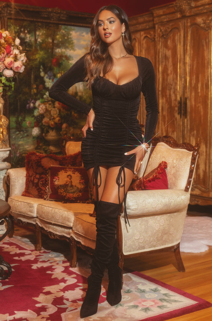 Seductive Love Dress - Black