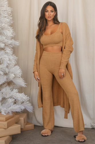 Call Me Cozy Set - Nude