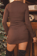 Need You Here Dress - Mocha