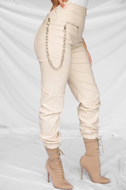 Full Disclosure Pant - Nude