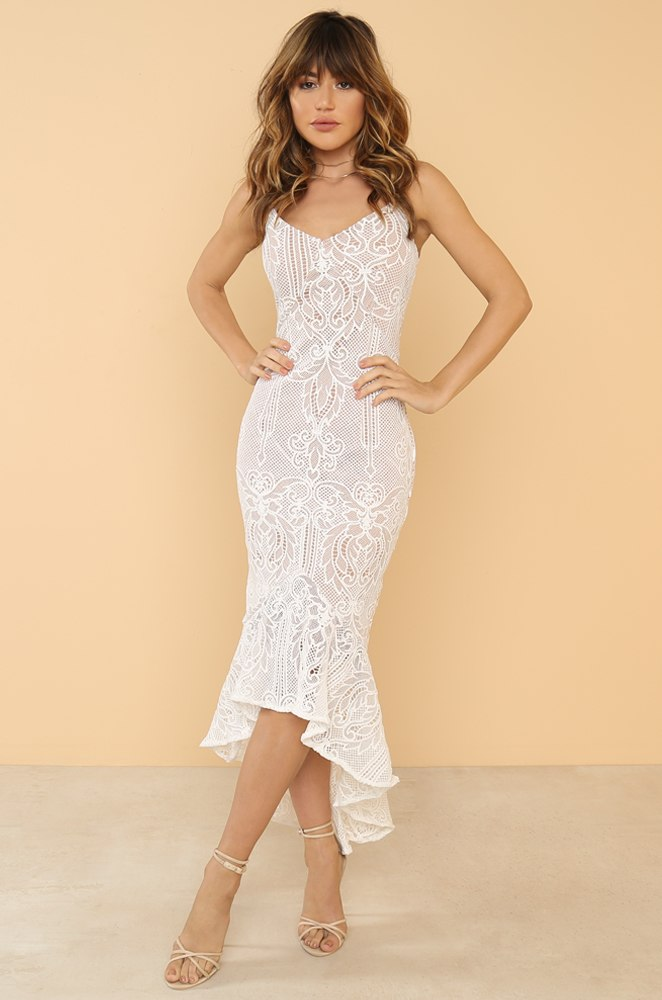 Secret Admirer Dress - White