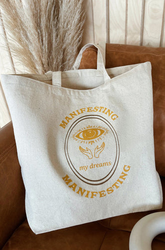 Manifesting Tote Bag - Natural