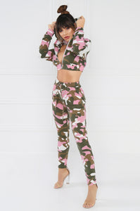 Gotchya Good Set - Pink Camouflage