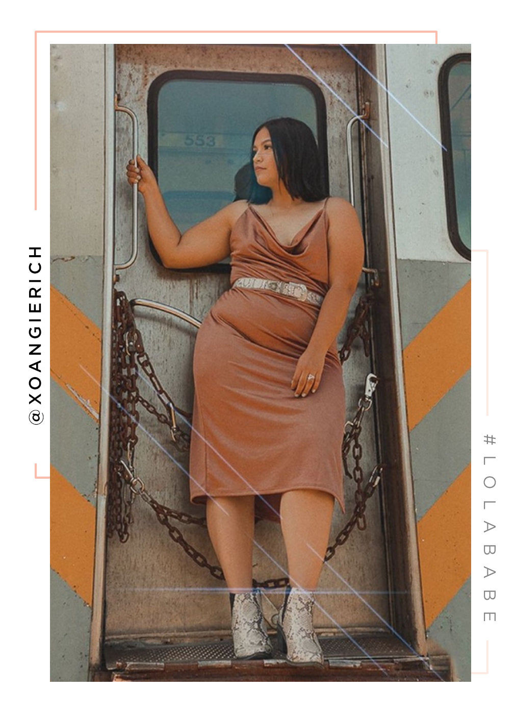 Lost Without Me Dress - Bronze