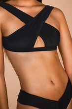Chase The Chaos Swim Top - Black