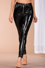 Invasion of Privacy Pant - Black Patent