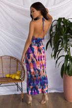Trip Out Dress - Purple Multi