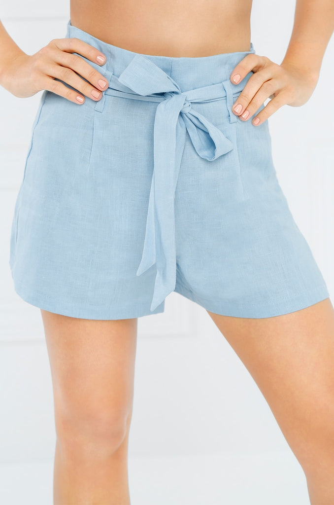Run The World Shorts - Blue