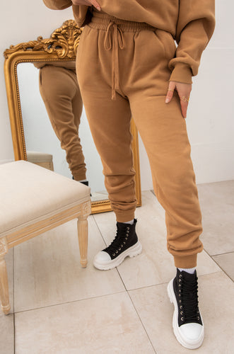 Cozy Feels Jogger - Camel