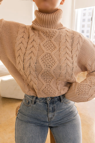 Lilian Sweater - Nude