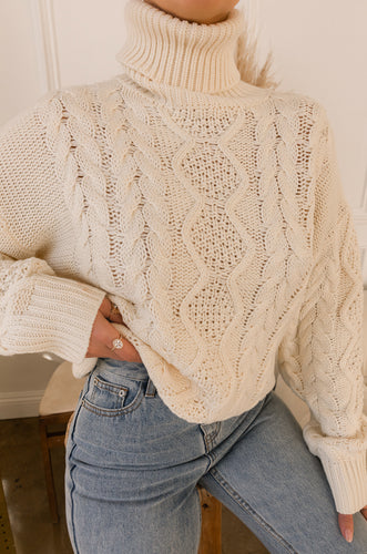 Lilian Sweater - Ivory