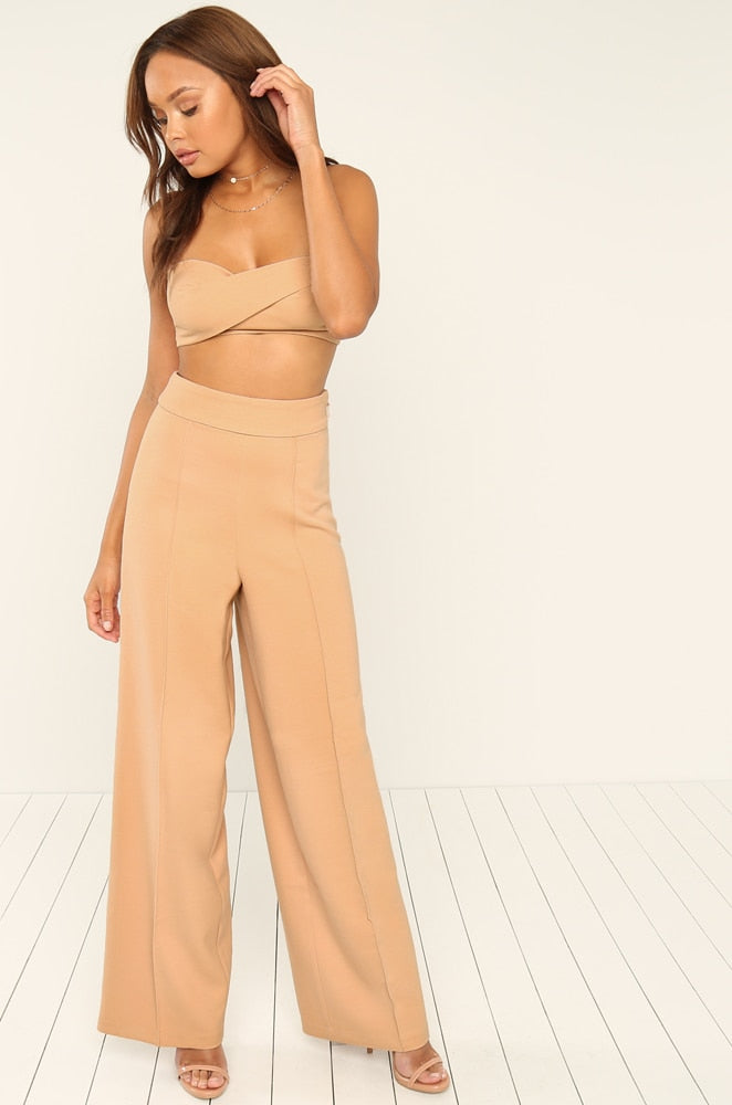 Back Together Trouser - Nude