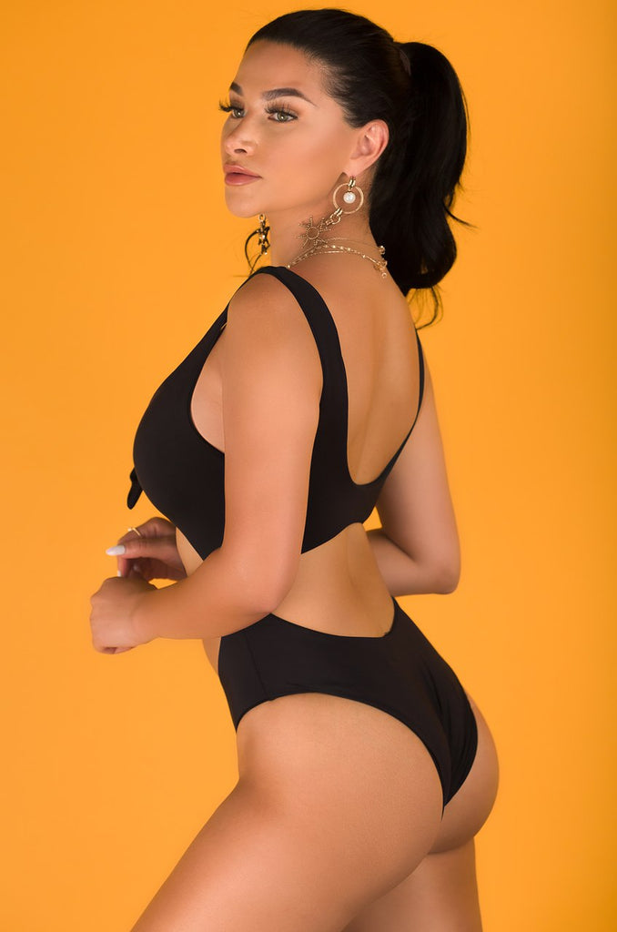 Hidden Treasure Swimsuit - Black
