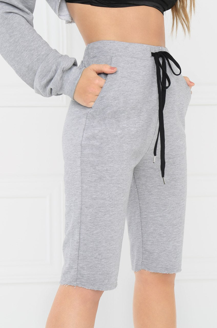 Not So Sporty Sweatshorts - Grey