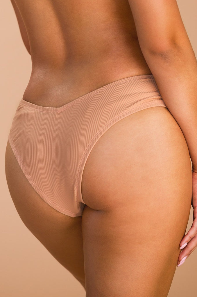 Chase The Chaos Swim Bottom - Blush