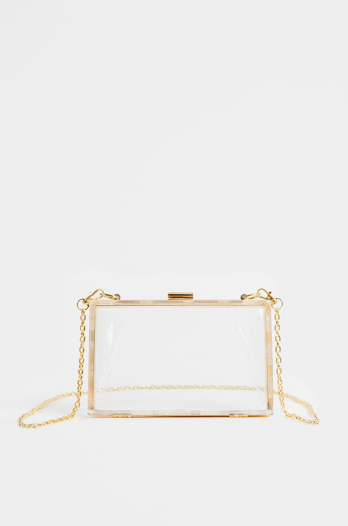 J'adore Shoulder Bag - Clear