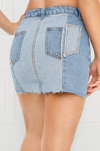 Hit The Road Denim Skirt - Light Wash