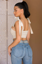 Light of My Life Crop Top - Ivory