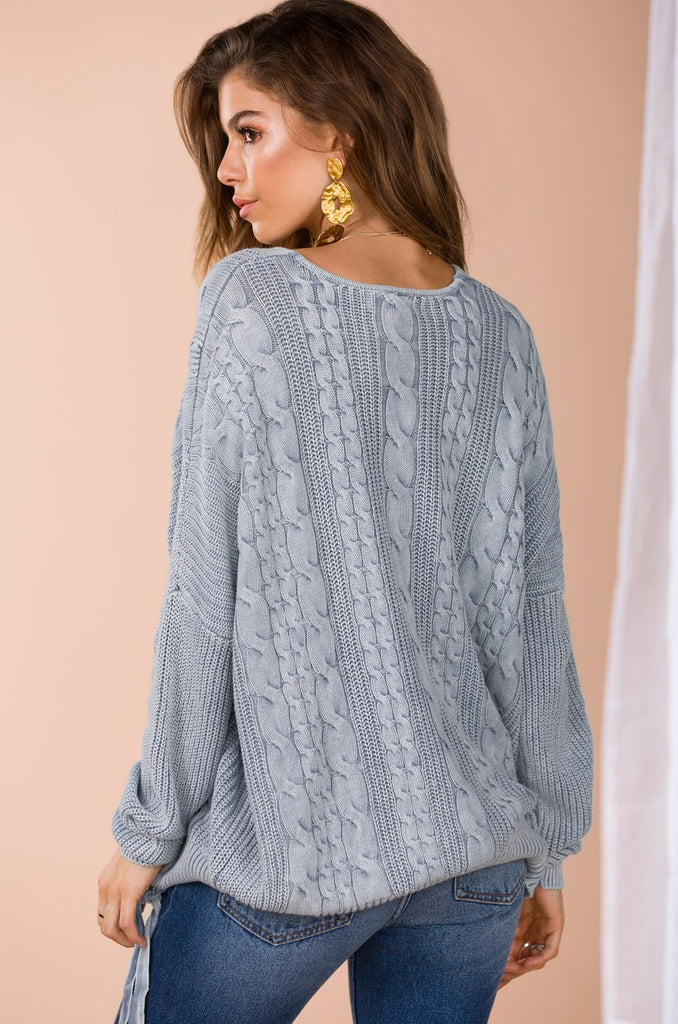 Dawn of Daylight Sweater - Blue