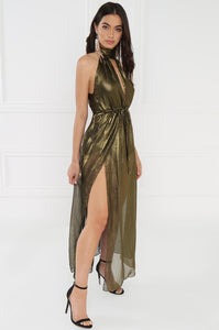 Haute & Unbothered Dress - Bronze