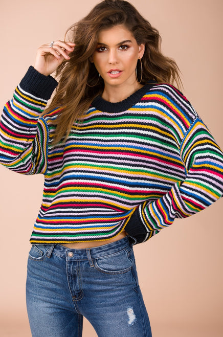 Read My Aura Sweater - Multi