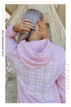 Dream It Then Real Life It Hoodie - Pink