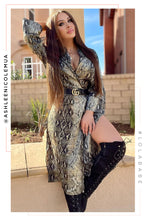 Nocturnal Diva Dress - Snake