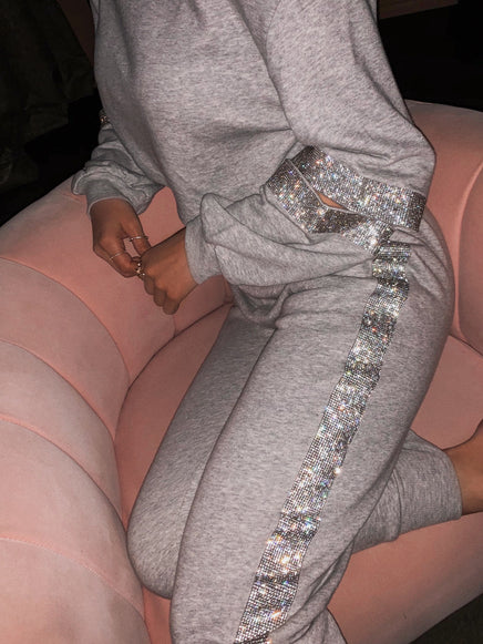 Luxe Lounge Set - Grey