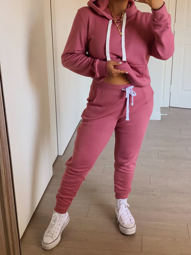 Self-Love Jogger Set - Mauve