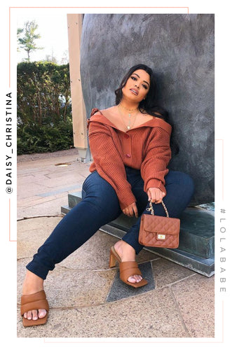 Addilyn Sweater - Camel