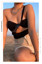Vacation Island Swimsuit - Black