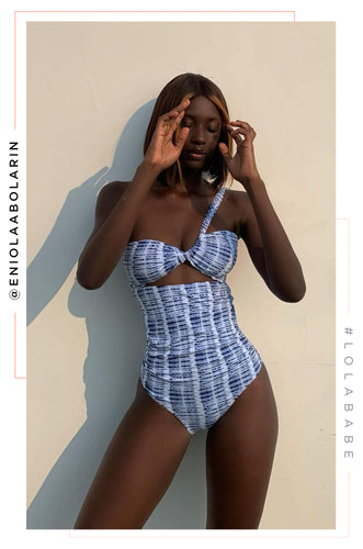 Vacation Island Swimsuit - Navy