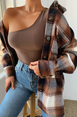 Always Ready Bodysuit - Mocha