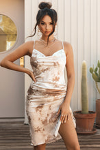 Fly To Cancun Dress - Nude Multi