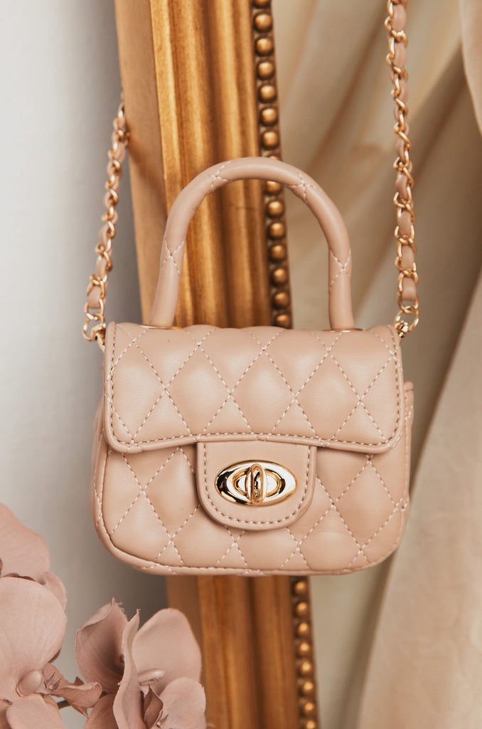 Mini Claire Bag - Nude