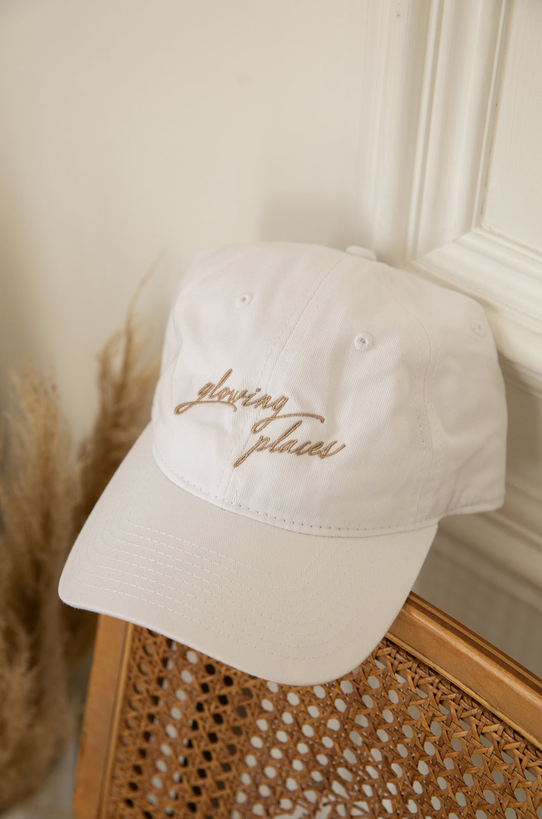 Glowing Places Hat - White