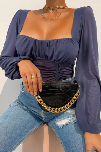 Extra Luxe Belt Bag - Black
