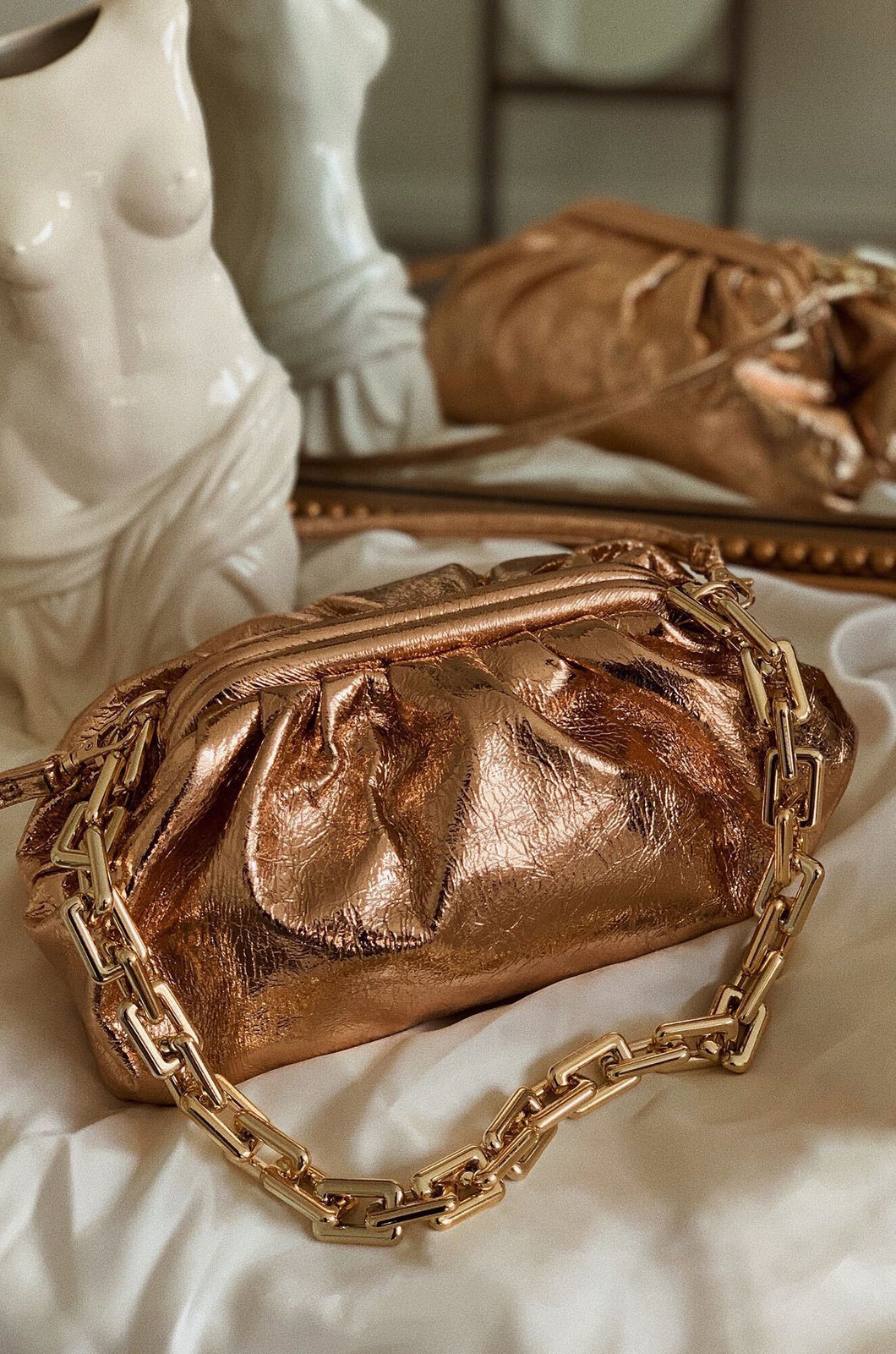 Italian Nights Bag - Rose Gold